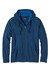 Prana M's Barringer Full Zip Hoodie Blue Ridge